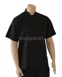 Black Short Sleeve Jacket
