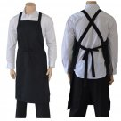 Bib Apron Black Cross Over